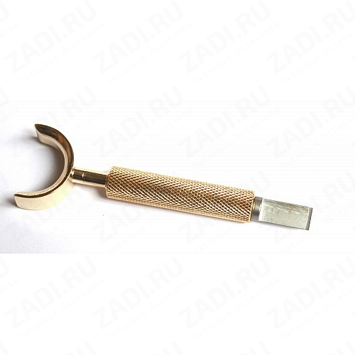 Проф. модельный резец  для худож. тиснения (золото) арт. TZ1400-00