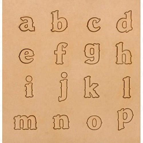 Набор штампов Алфавит IVAN арт.  8131-02  19мм