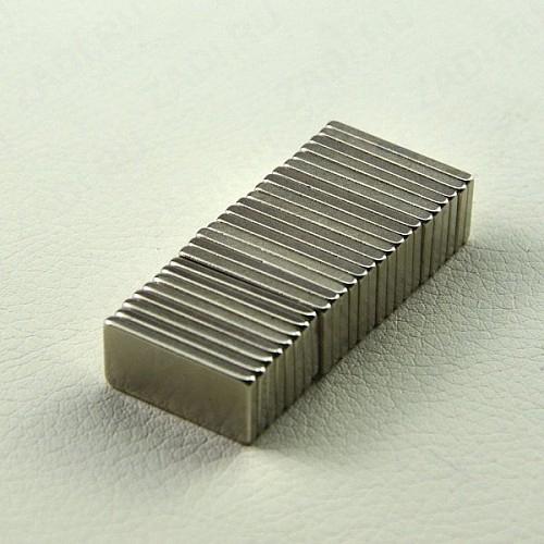 Магнит 20х10х2мм  (никель) арт.928M 1шт