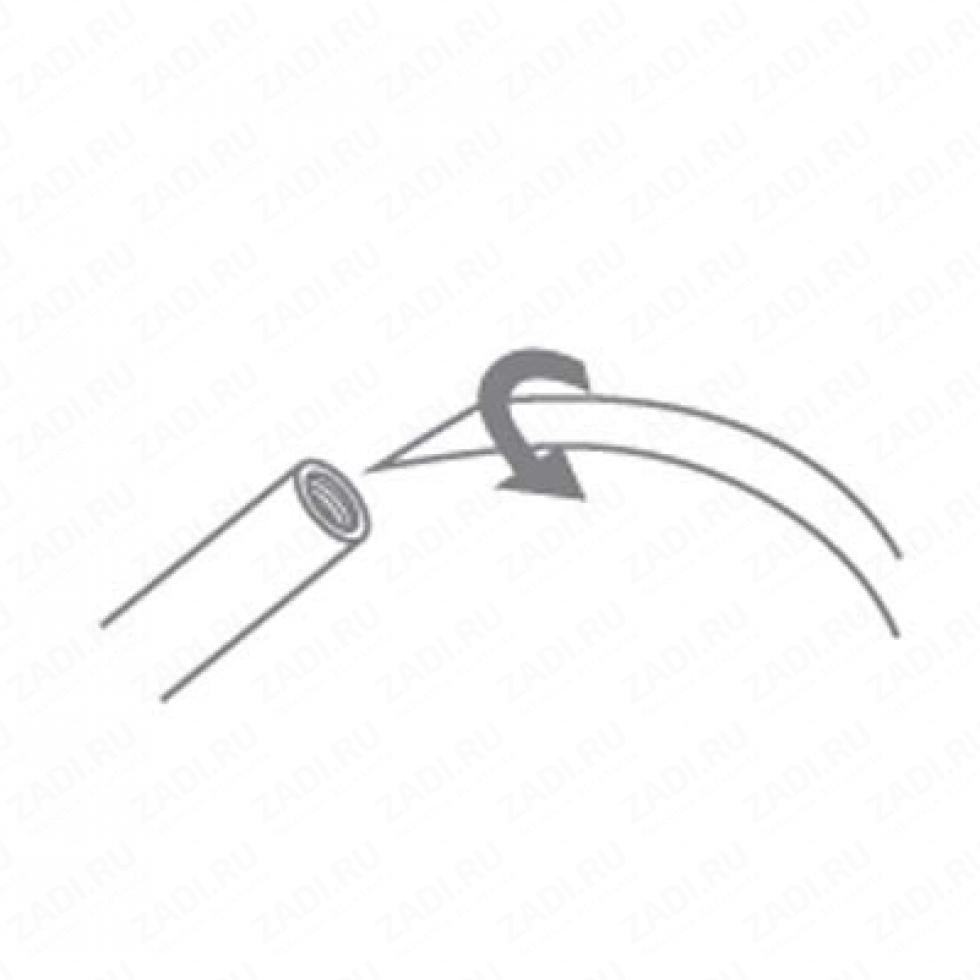 Игла для шитья кожаным шнуром
