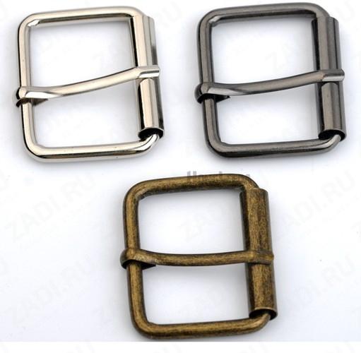 Пряжка для мужского ремня шириной 40мм ( никель, антик, черный никель) BK-070