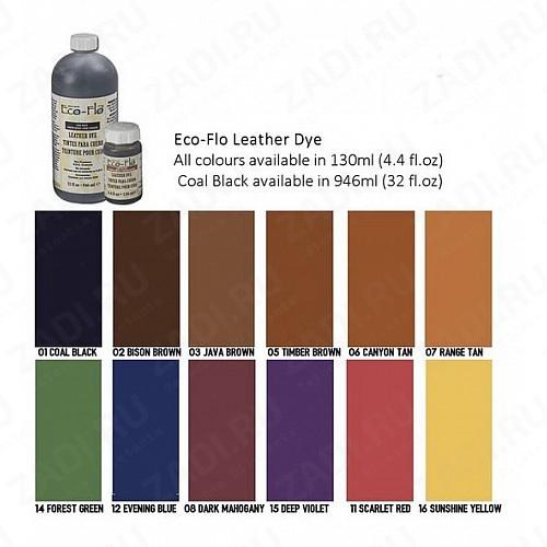 Краски для кожи Eco-Flo Leather Dye130ml