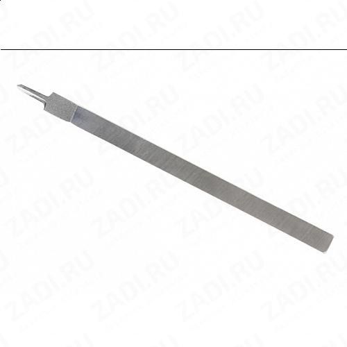 Пробойник строчный ромбовидный 1зубец  2,8мм  арт. 29458