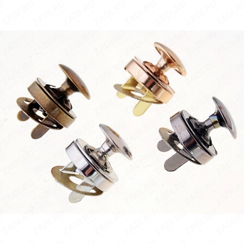 Кнопки магнитные металл 14мм 1 шт
