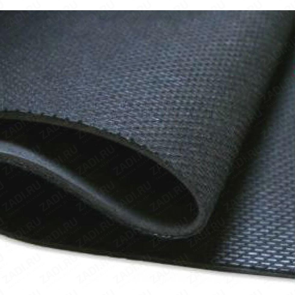 Подкладочный материал c поролоном 3мм (черный) А4  УЦЕНКА