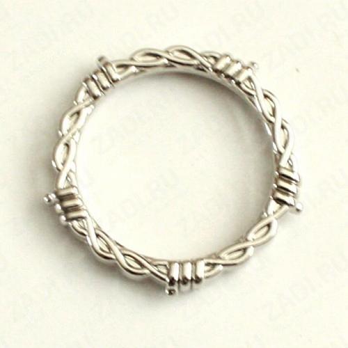 Кольцо 38х4мм (никель) 1 шт.16936-04