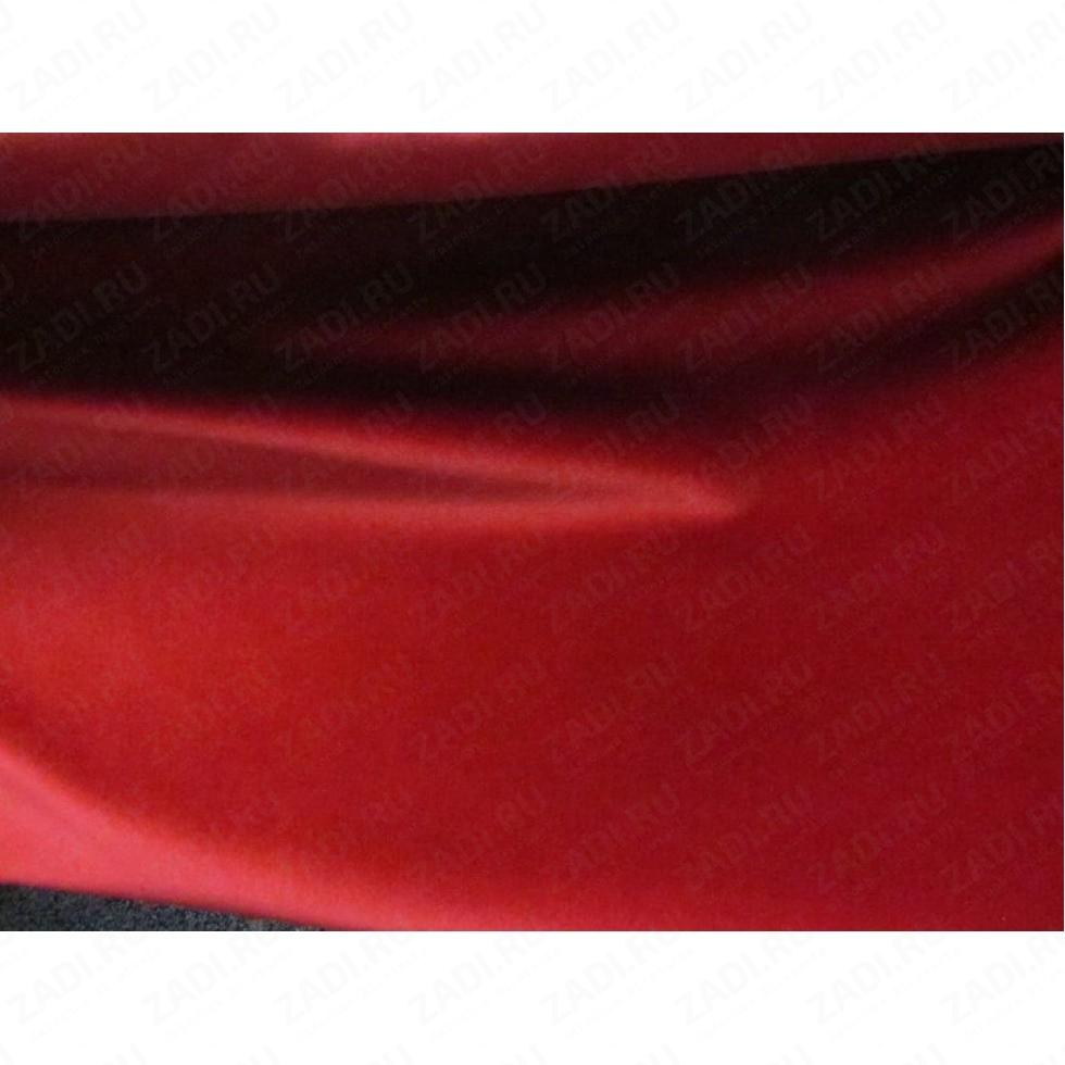 Искусственный бархат на самоклеющейся основе (красный) А4 30х22см