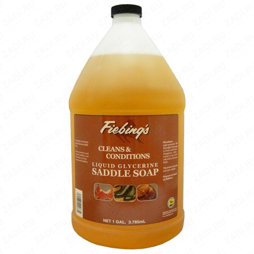 Fiebing's LIQUID GLYCERINE SADDLE SOAP (Седельное мыло)  100мл.  арт. FS1542