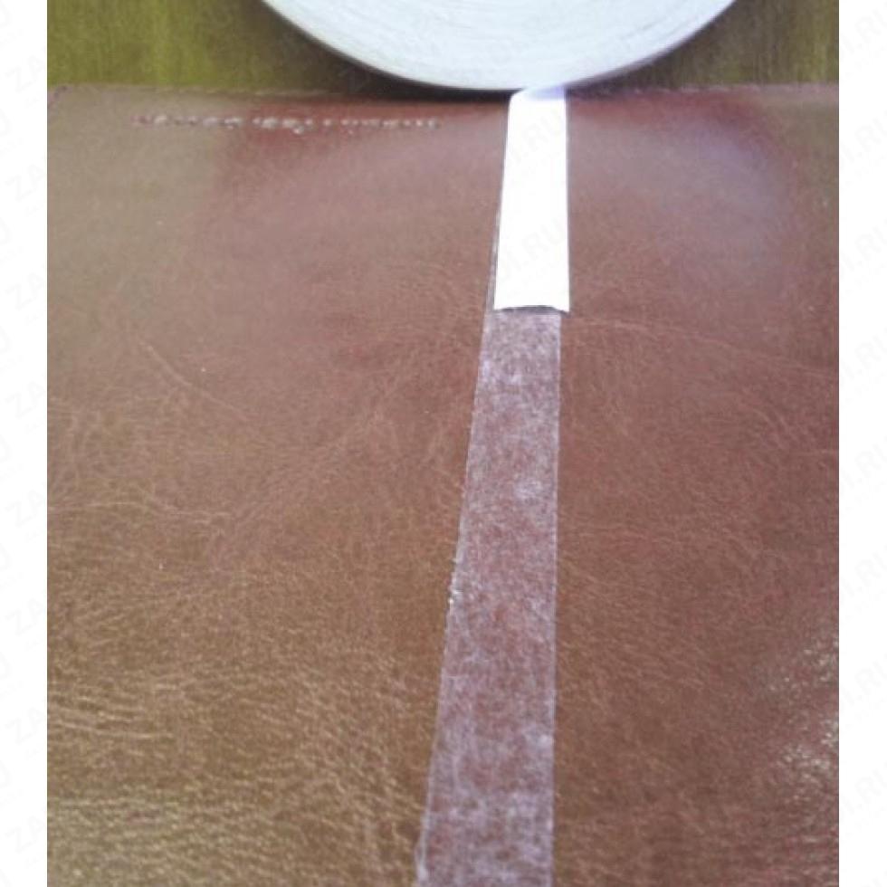 Скотч двухсторонний на бумажной основе (прозрачный клеевой слой) 5мм  20м.L197
