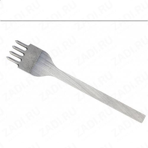 Пробойник строчный ромбовидный  4 зубца  (2,2мм х 2мм) арт. ТК2376