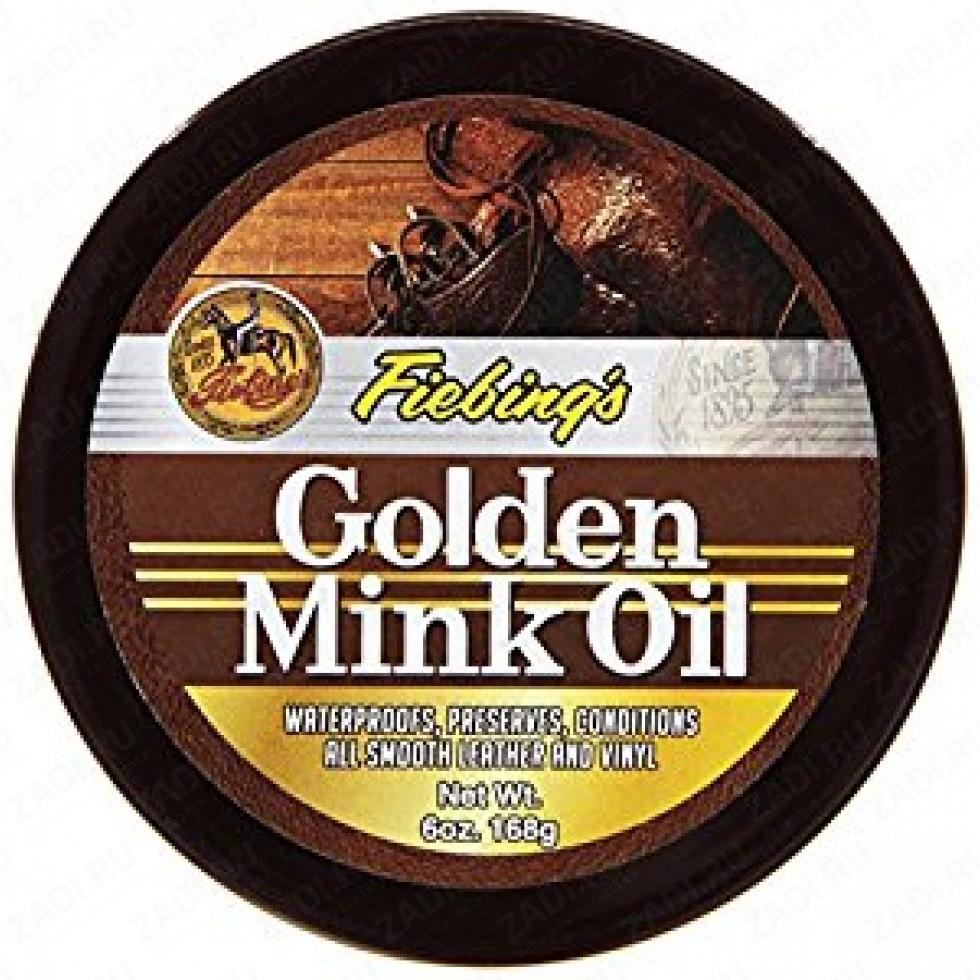 Golden Mink Oil Leather Protective  168г. FS725