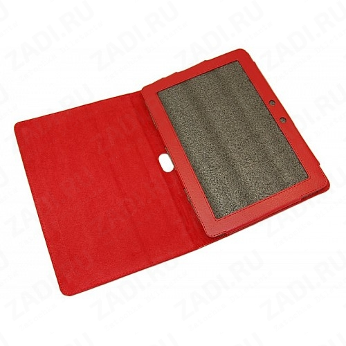 Искусственный бархат на самоклеющейся основе (красный) А3 45х30см