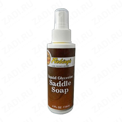 Fiebing's LIQUID GLYCERINE SADDLE SOAP (Седельное мыло)  4oz. 118мл.  арт. FS1556