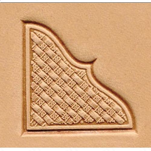 Штамп для кожи 3D арт. 8535-00  27мм х 30мм