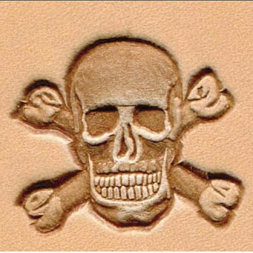 Штамп для кожи 3D арт. 8547-00  27мм х 30мм
