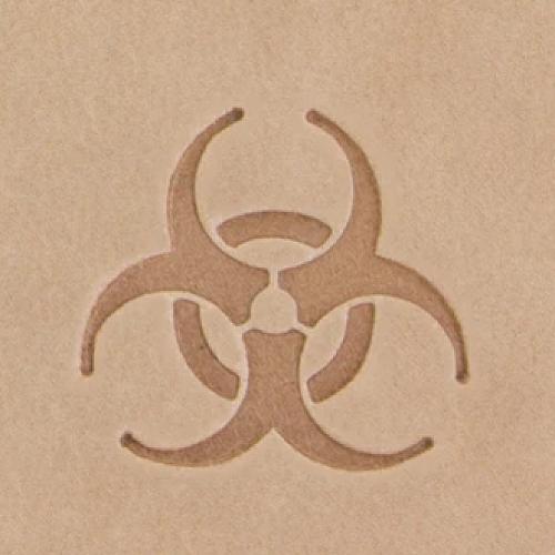 Штамп для кожи 2D арт. 8819-00 18мм х 18мм