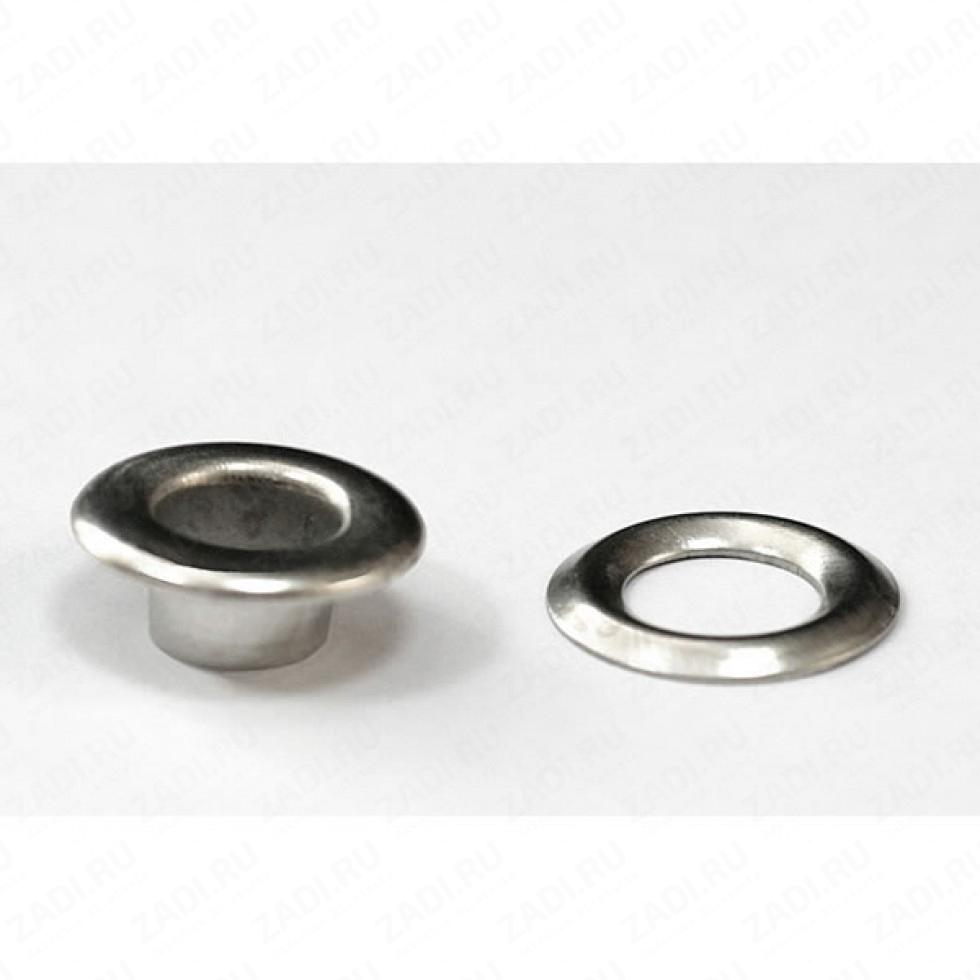 Набор блочек -без кольца (никель) 5 мм EFN384  (100 шт)