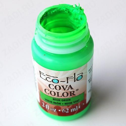 Краски акриловые для кожи Eco-Flo Cova Color 40мл УЦЕНКА