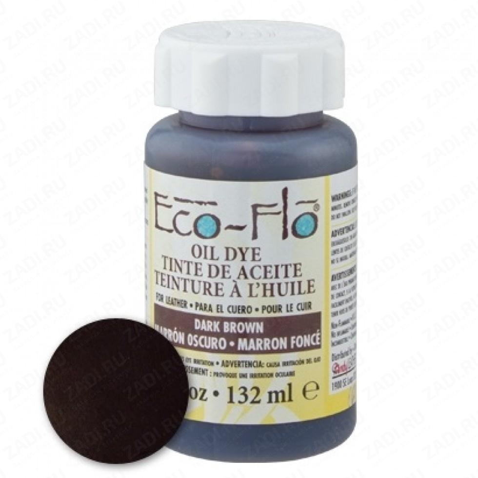 Eco-Flo Oil Dye (Wheat,Saddle Tan,Black, Dk. Brown, Lt. Brown) 130ml
