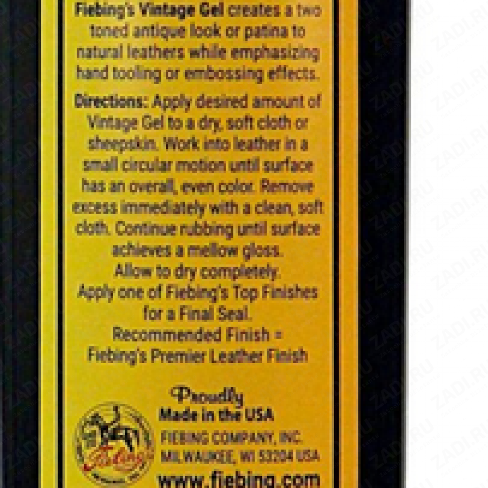 Vintage Gel FIEBING'S  (антик) 236мл.