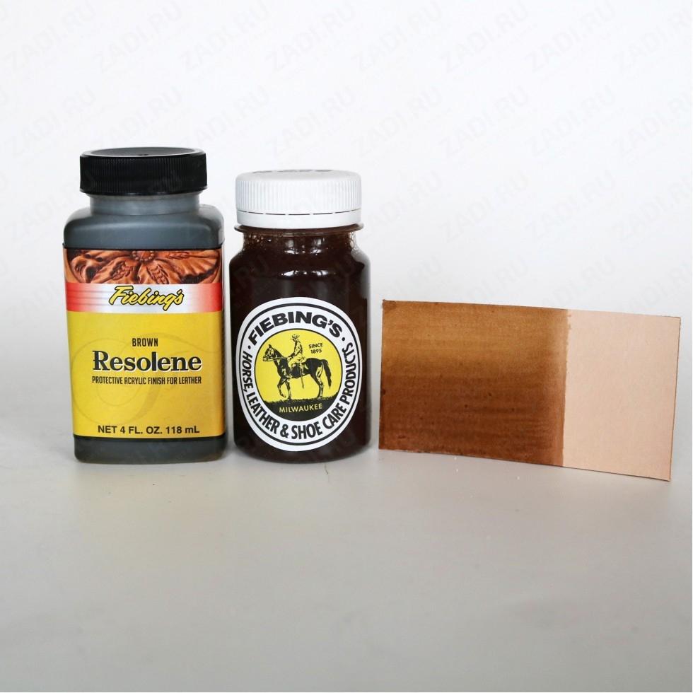 Acrylic RESOLENE Brown (коричневый) Fiebing'S USA
