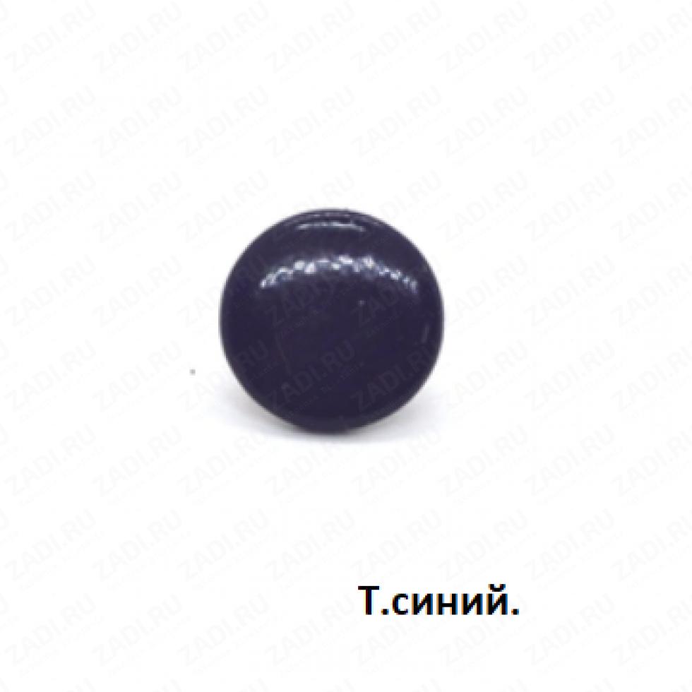 Кнопка Alfa металл 12,5мм ЦВЕТНАЯ 1шт.