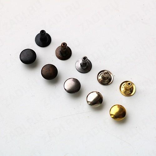 Хольнитены (т/никель, тёмный хром, хром, бронза, оксид, золото ) 7мм (10 шт)