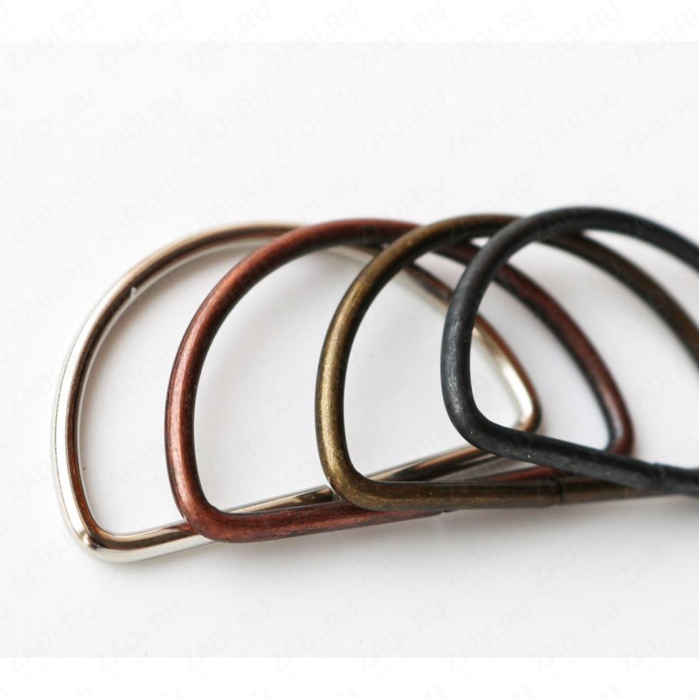 Полукольцо 40мм  (никель,медь,бронза,оксид) 3мм 1 шт. IKF103
