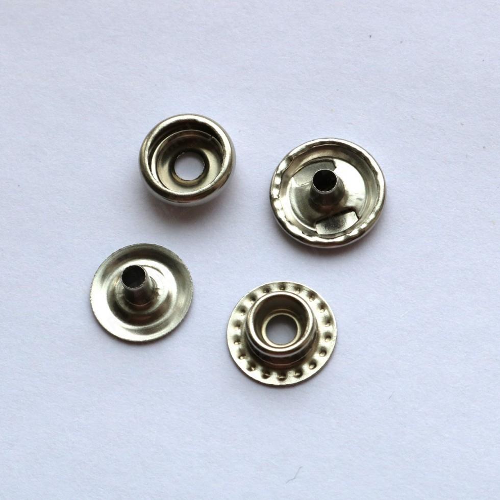 Кнопка латунная  Omega  (№61) 12,5мм 1шт арт.VT 204