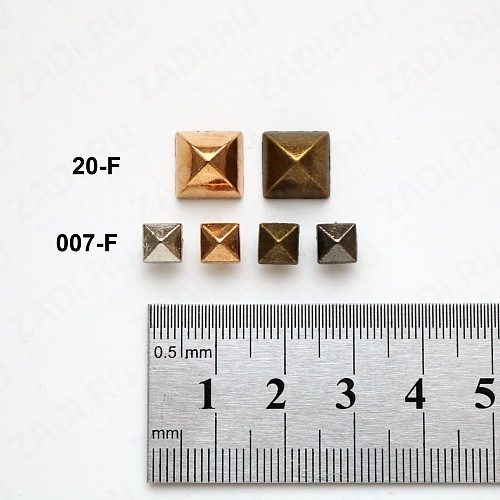 Набор хольнитенов декоративных 6мм и 10мм