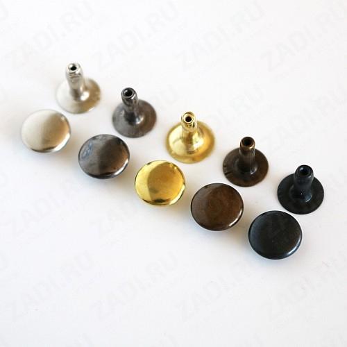 Хольнитены  (золото, никель , оксид, антик,  т/никель) 9мм 10 шт