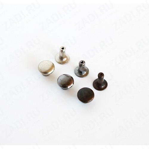 Хольнитены (никель,чёрный никель, антик ) 5мм (10 шт)