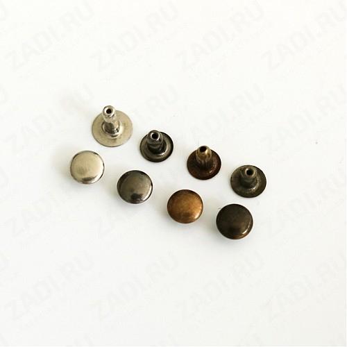 Хольнитены ( хром, бронза, черный никель, антик) 6мм  (10 шт)