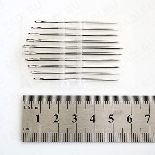 Набор швейных игл для работы с кожей  10 шт (IG 210)