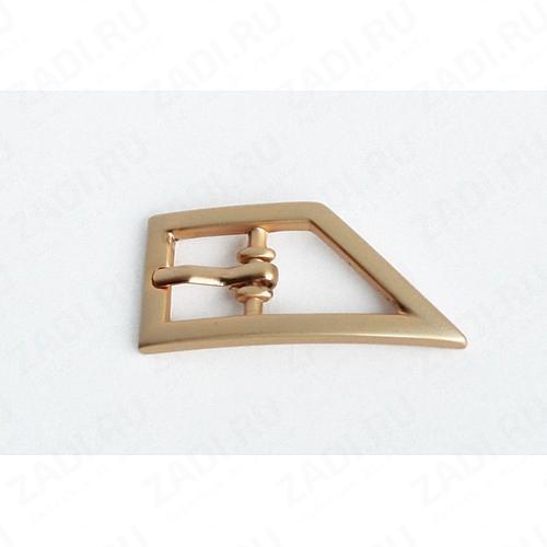 Пряжка под  ремень шириной 12мм  арт  GB 1142 (матовое золото)