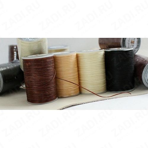 Нить плетёная-вощёная 0,5х08мм  в ассортименте 80м.