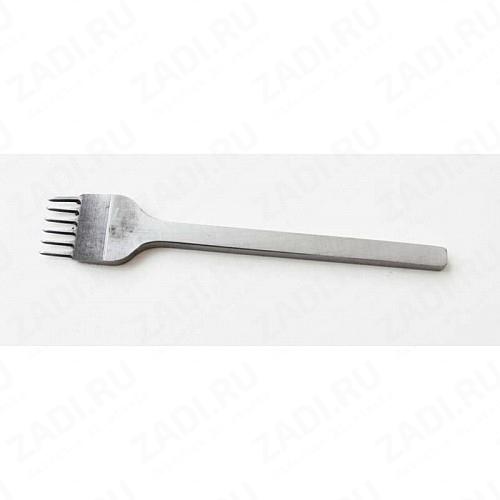 Пробойник строчный ромбовидный 6 зубцов (1,4мм х 3мм) арт. 0042У