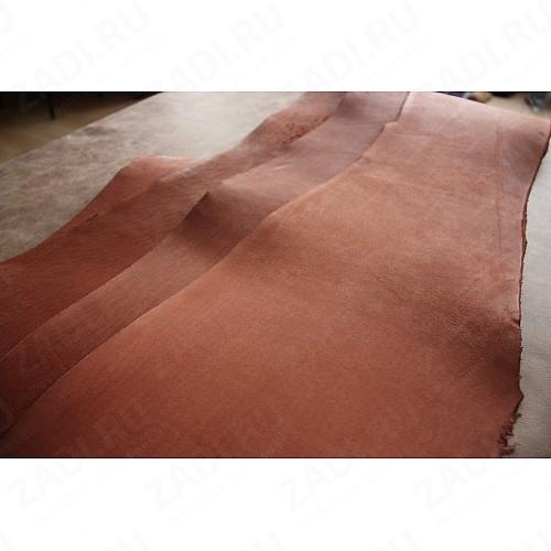 Кожа - Пола телячья ( коричневый) Прибалтика