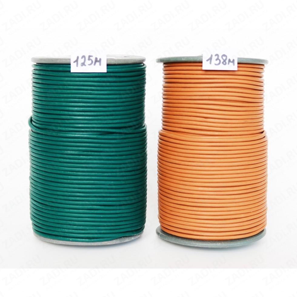 Шнур кожаный круглый (125М,138М) 3мм