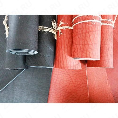 Кожа Юфть (коньяк, черный) 3,1-3,5мм