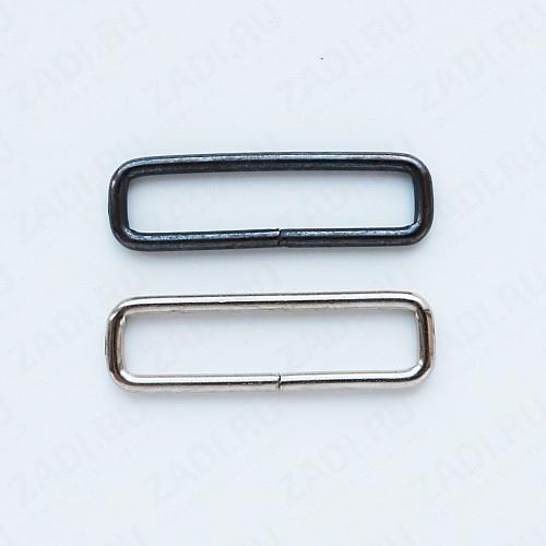 Рамка прямоугольная узкая  30х7мм (2мм)  (никель,оксид) KI-30