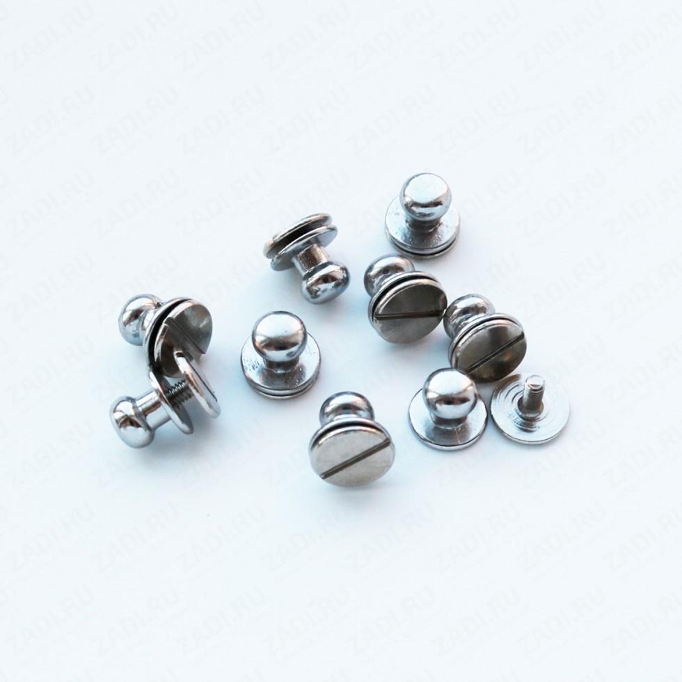 Заклепка резьбовая (никель) 7,5мм и 8,6мм  IK33