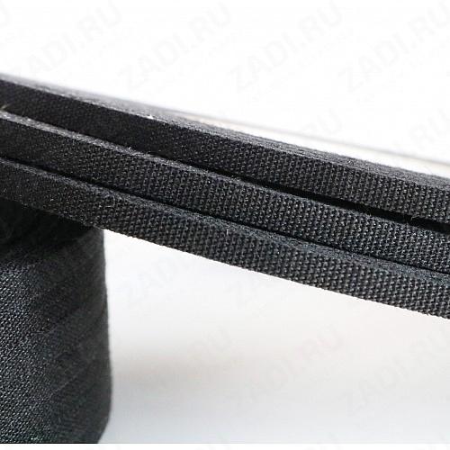 Клейкая лента х/б черная 4мм (50м) L181