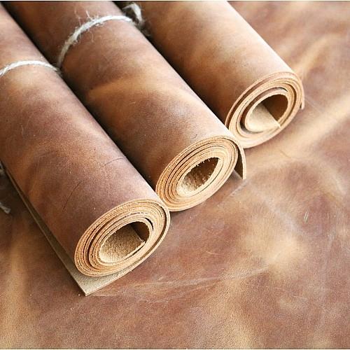 Крейзи Хорс растительного дубл.(цвет-коричневый) 1.6-1.8мм и 1.8-2мм
