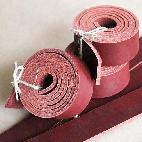 Заготовка для ремня 40мм (БУЙВОЛ) цвет:коньяк 4.5-5мм