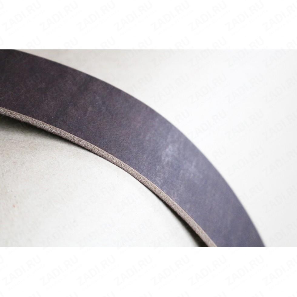 Заготовка для ремня 40мм (БУЙВОЛ) цвет:коричневый 4.1-4.5мм