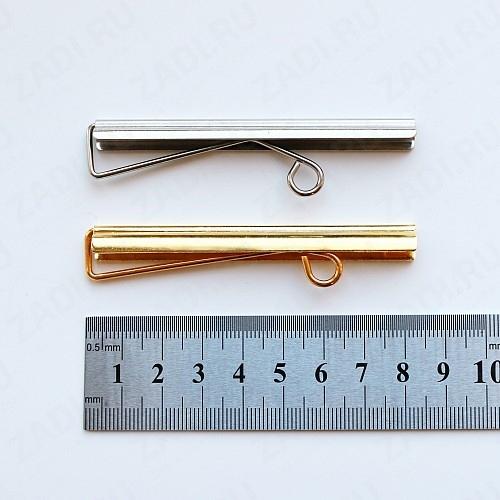 Зажим для купюр (никель, золото) 8см арт. Z25/03 1 шт