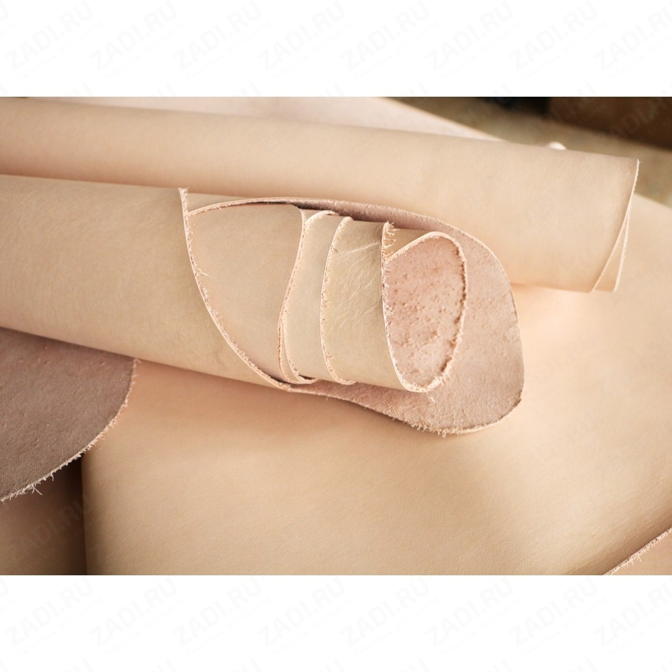 Кожа раст.дуб.полушкура  (tooling leather) Италия 1,3-1,5мм  Сорт А.