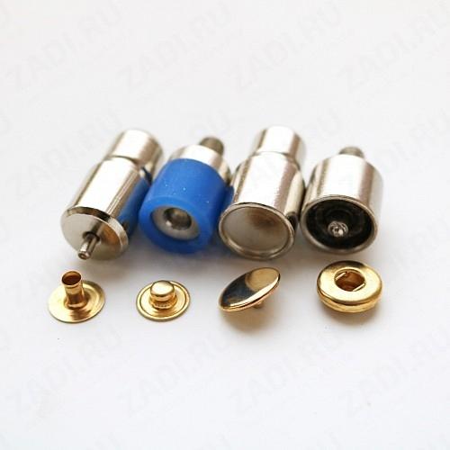 Насадки (с гальваническим покрытием) для установки кнопок Alfa 15мм ; 12,5мм; 10мм