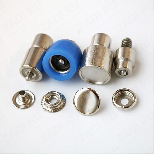 Насадки (с гальваническим покрытием) для установки кнопок Strong (№61 )15мм и 12,5мм